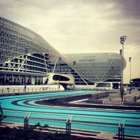 Photo taken at Yas Marina Circuit by Carlos G. on 4/3/2012