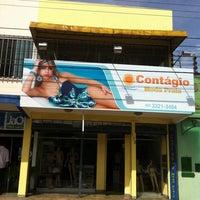 Photo taken at Contágio Moda Praia by Marcela O. on 1/26/2012