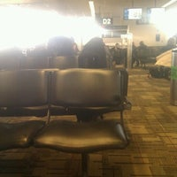 Photo taken at Gate D2 by Doug D. on 1/28/2012