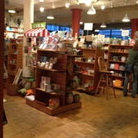 Photo taken at Malaprop's Bookstore/Cafe by Katie C. on 3/22/2012