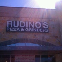 Photo taken at Rudino's Pizza & Grinders by John S. on 2/14/2012