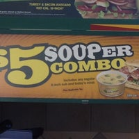 Photo taken at SUBWAY by MS. Phylicia J. on 6/9/2012