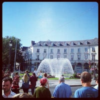 Photo taken at Place Jean Jaurès by Hassan M. on 9/8/2012