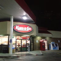 Photo taken at Kum & Go by Johnny A. on 11/7/2011