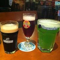 Photo taken at BREW Beers & Ciders by Ploy P. on 3/16/2012