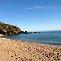 Photo taken at Blackpool Sands by Stella G. on 10/28/2011
