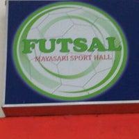 Photo taken at Mayasari Futsal by Deny B. on 12/2/2011