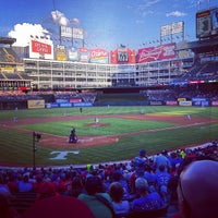 Photo taken at Globe Life Park in Arlington by Funkytown F. on 8/28/2012