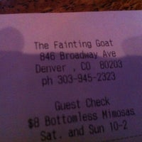 Photo taken at Fainting Goat Pub by Julia L. on 1/15/2012
