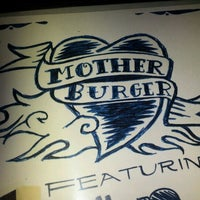 Photo taken at Mother Burger by Mayra A. on 8/29/2012