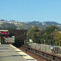 Photo taken at Rockridge BART Station by Alejandro A. on 7/10/2012