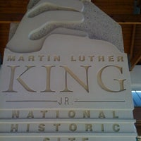 Photo taken at Dr Martin Luther King Jr National Historic Site by Jeff C. on 10/8/2011