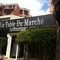Photo taken at La Table du Marche by Li L. on 1/27/2012