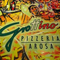Photo taken at Pizzeria Grottino by Katie H. on 12/22/2011