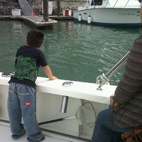 Photo taken at Pisces Group Cabo - Sportfishing & Yachts Division by Jorge N. on 1/19/2012