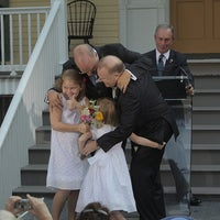 Photo taken at Gracie Mansion by Mike Bloomberg on 4/9/2012