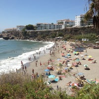 Photo taken at El Salón Beach by Helvia R. on 8/24/2012
