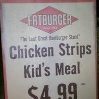 Photo taken at Fatburger by Ben M. on 3/9/2012