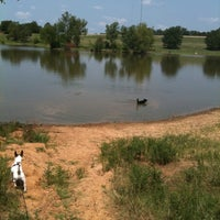 Photo taken at Shelby Farms Dog Park by Molly W. on 7/24/2011
