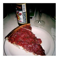 Photo taken at Zachary's Chicago Pizza by Julie • 유미 U. on 12/31/2011