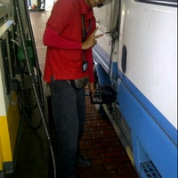 Photo taken at Shell Jalan Ahmad Ibrahim by MR|Wiwie on 11/10/2011