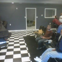 Photo taken at Friendly Cuts Barber Shop by Bishop C. on 10/21/2011