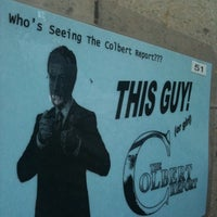 Photo taken at The Colbert Report by Cheryl M. on 4/25/2011