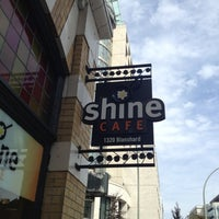 Photo taken at Shine Cafe by Kate S. on 8/26/2012