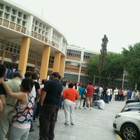 Photo taken at Facultad de Medicina (UANL) by Dulce S. on 7/1/2012