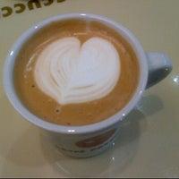 Photo taken at CAFFÉ PASCUCCI by Jin K. on 2/1/2012