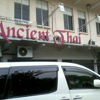 Photo taken at Ancient Thai Beach Therapy by Jhin R. on 6/10/2012