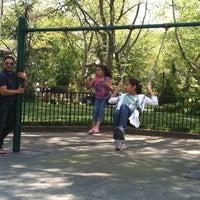 Photo taken at Van Vorst Park by Katherine V. on 4/21/2012