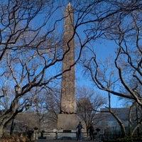 1/18/2012 tarihinde Eric O.ziyaretçi tarafından The Obelisk (Cleopatra's Needle)'de çekilen fotoğraf