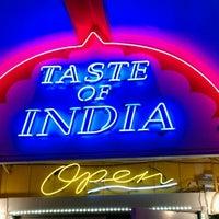 Photo taken at Taste of India by Vivek on 2/26/2012