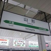 Photo taken at Yamagata Station by Takuya S. on 12/22/2011