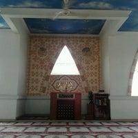 Photo taken at Masjid At-Taubah by Adin D. on 11/17/2011