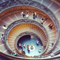 Photo taken at Vatican Museums by Anil P. on 11/19/2011