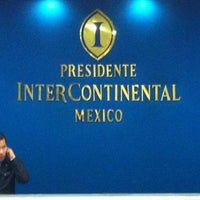 Photo taken at Presidente InterContinental by Alex E. on 1/13/2011