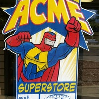 Photo taken at Acme Superstore by tixturismo v. on 3/15/2012