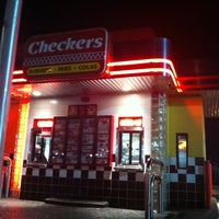 Photo taken at Checkers by Rayne S. on 1/29/2011