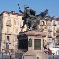 Photo taken at Piazza Solferino by ImaV on 5/20/2012