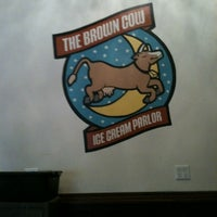 Photo taken at The Brown Cow Ice Cream Parlor by Tianna W. on 6/21/2012