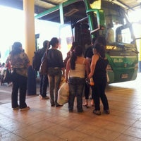 Photo taken at Terminal Buses Bio Bio Victoria by Briam A. on 1/3/2012