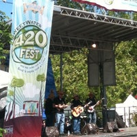 Photo taken at SweetWater 420 Fest by Diane C. on 4/20/2011