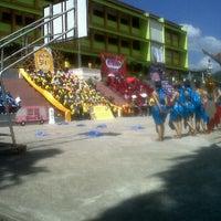 Photo taken at โรงเรียนสตรีพังงา (มัธยมศึกษา) by zumiko o. on 12/30/2011