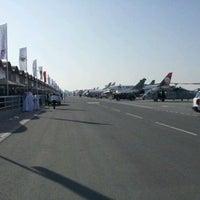 Photo taken at Sakhir Airbase by Hamza T. on 1/19/2012