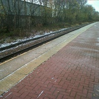 Photo taken at Moorside Railway Station (MSD) by Lindsay R. on 12/6/2011