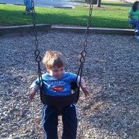 Photo taken at Centerway Park by Matthew P. on 10/16/2011