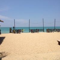 Photo taken at Andamania Beach Resort & Spa by Kittitato on 3/28/2012