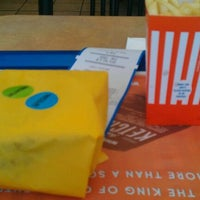 Photo taken at Whataburger by Chris S. on 8/19/2011